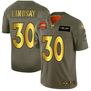 Denver Broncos 30 Phillip Lindsay Limited Jersey